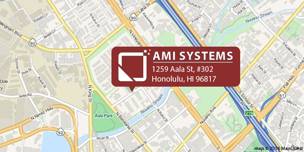 AMI Systems - map - 1